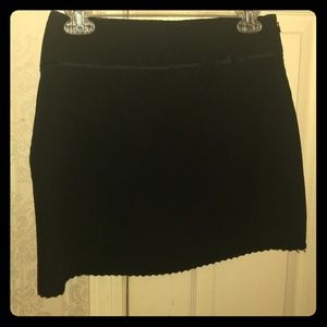 Black mini skirt by The Limited, size 2